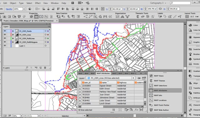 Avenza MAPublisher 10.4 for Adobe Illustrator