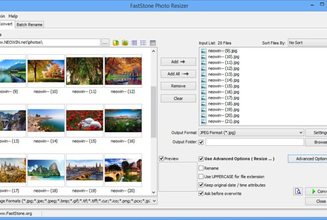 FastStone Photo Resizer 4.1