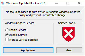 Windows Update Blocker 1.2
