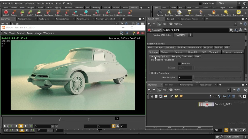 Redshift Renderer 2.6.41 For Houdini