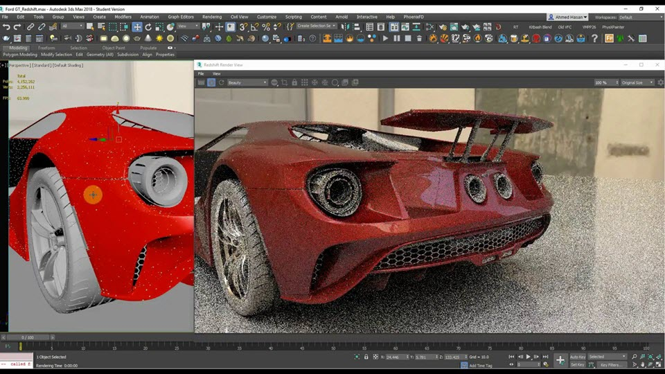 Redshift Renderer 2.6.41 For 3Ds Max