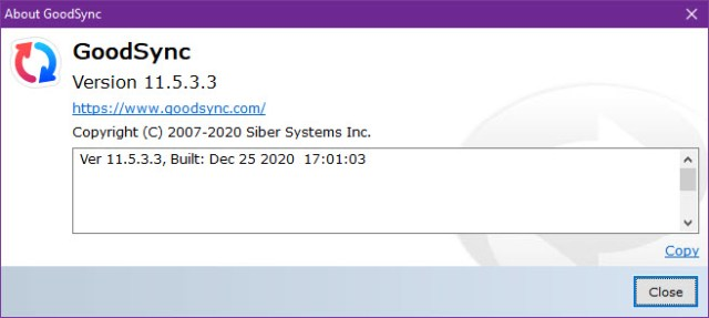 GoodSync Enterprise 11.5.3.3