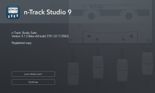 n-Track Studio Suite 9.1.2 Build 3701 Beta