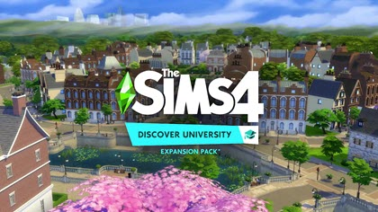 The Sims 4 Discover University logo