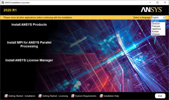 ANSYS Products 2020 R1