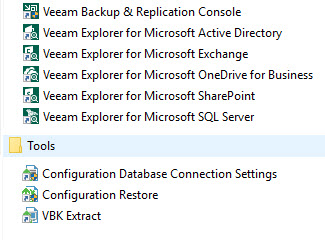 Veeam Backup & Replication 10.0.0.4461