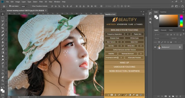 Beautify Panel for Adobe Photoshop v1.6.0