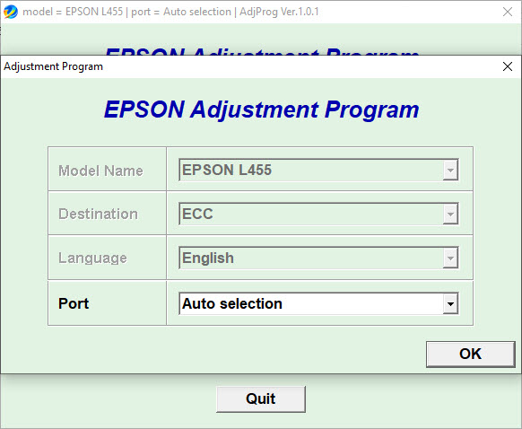 Epson Adjustment Program L455 (ECC)