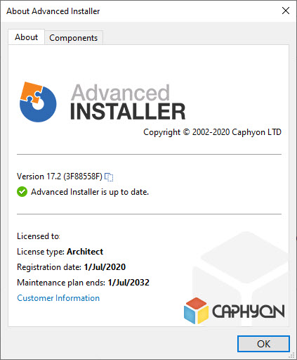 Advanced Installer Architect 17.2