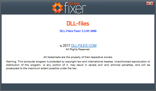 DLL-Files Fixer V3.3.91.3080