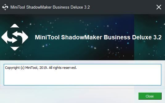MiniTool ShadowMaker Business Deluxe 3.2
