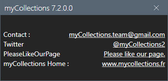 myCollections Pro 7.2.0.0