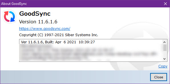GoodSync Enterprise 11.6.1.6