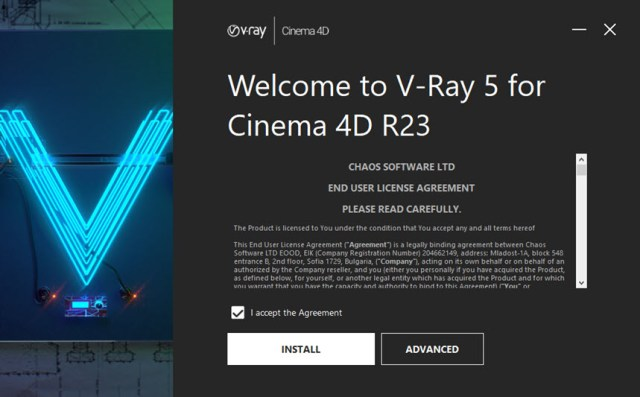 V-Ray 5.00.42 For Cinema 4D R20-R23