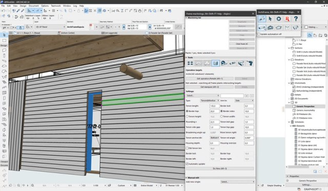 ArchiFrame for Archicad 2020