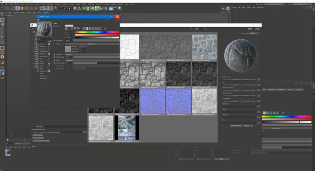 TGS Texture Manager v1.8.1 for Cinema4D R23 Win