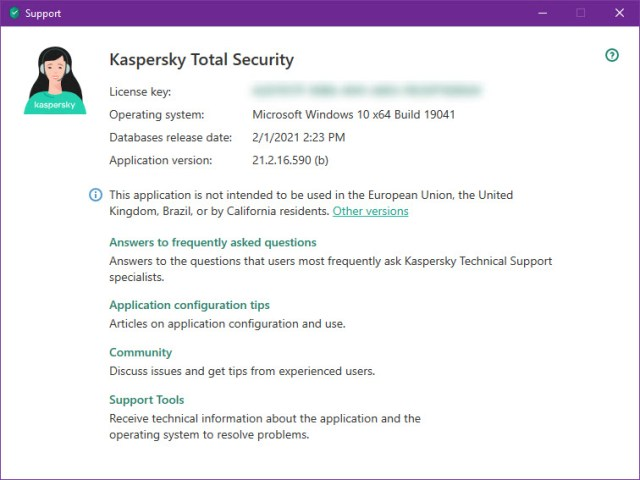 Kaspersky Total Security 2021 v21.2.16.590