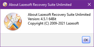 Lazesoft Recovery Suite 4.5 Unlimited Edition