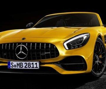 Mercedes-AMG GT S Roadster 2018 заполнит пустоты в линейке