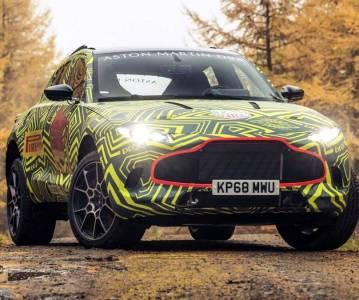 Кроссовер Aston Martin DBX выйдет на рынок в 2019 году