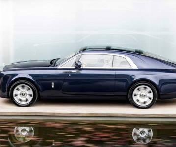 Самый дорогой автомобиль в истории. Rolls-Royce Sweptail 2019