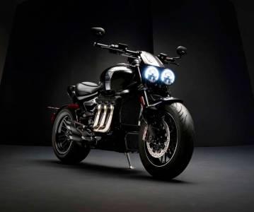 Triumph Rocket 3 TFC — самый мощный мотоцикл бренда