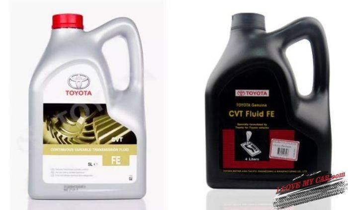 масло Toyota RAV4