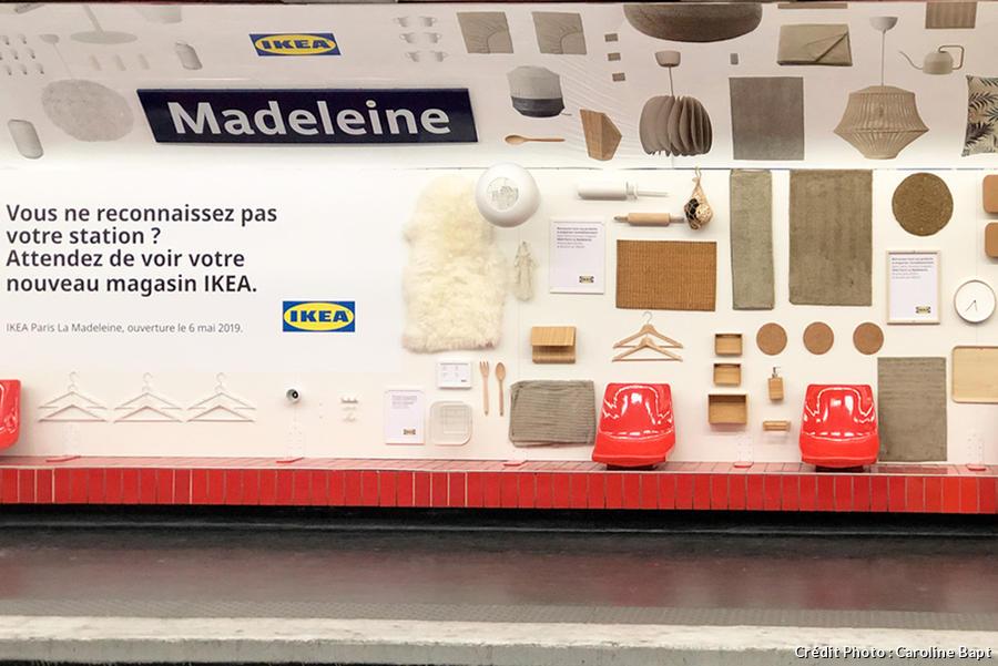Ikea Paris La Madeleine Nous étions à Louverture