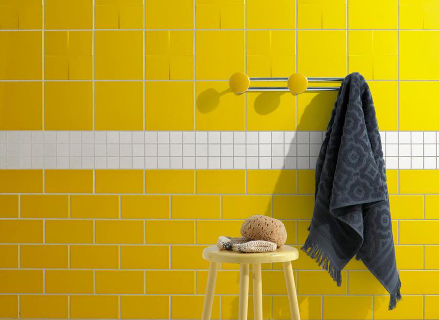 le jaune habille les murs maison creative