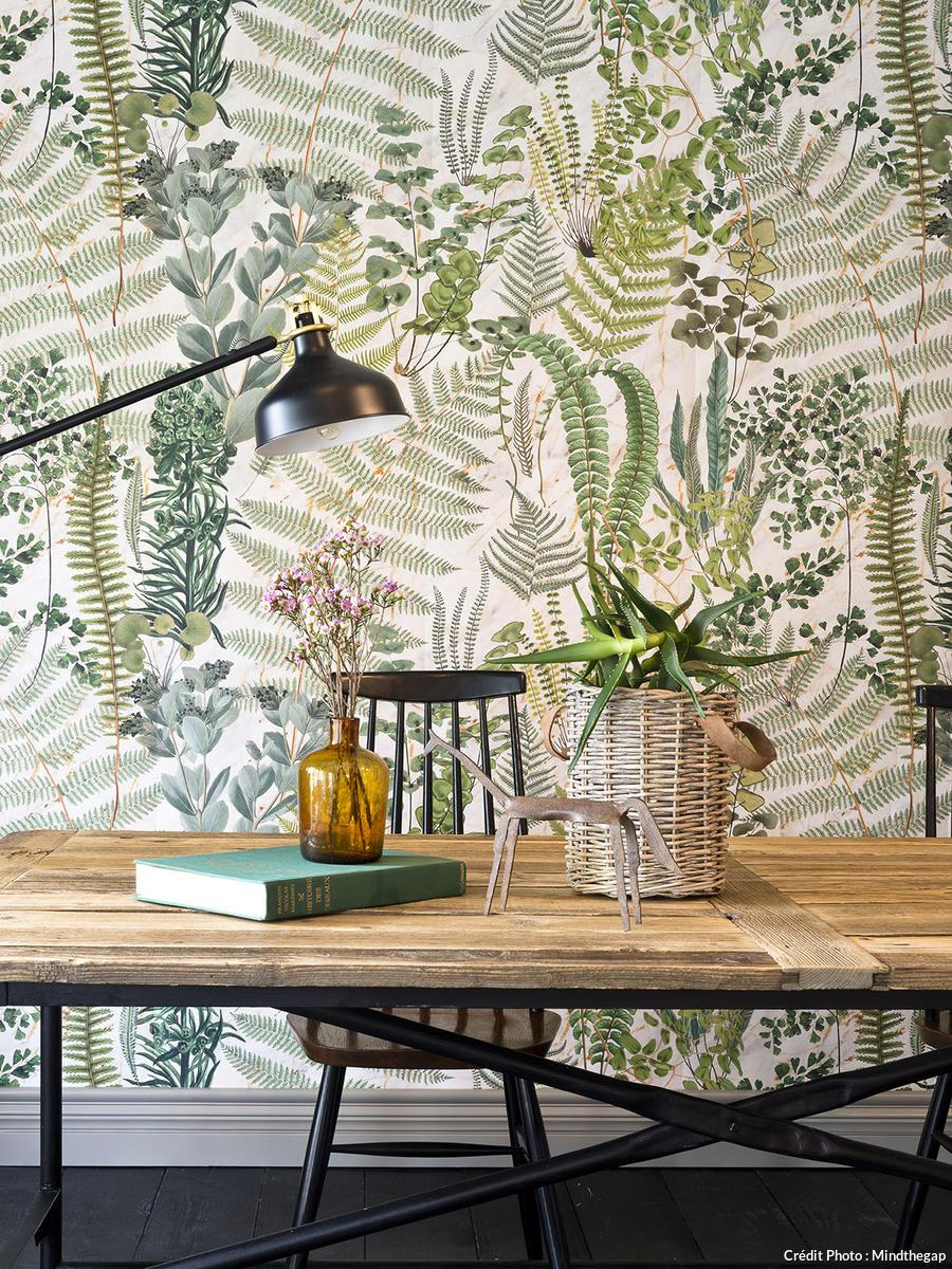 papier peint vegetal 30 motifs