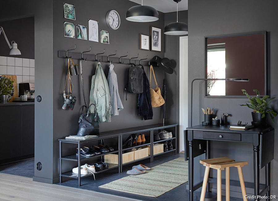 amenager un couloir en 8 idees deco