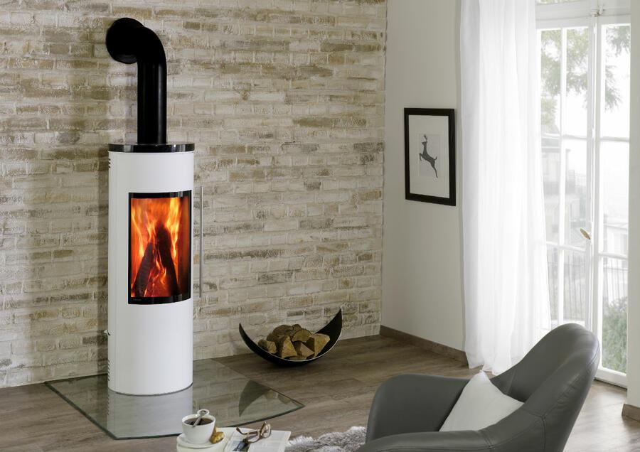 poele a bois design et contemporain