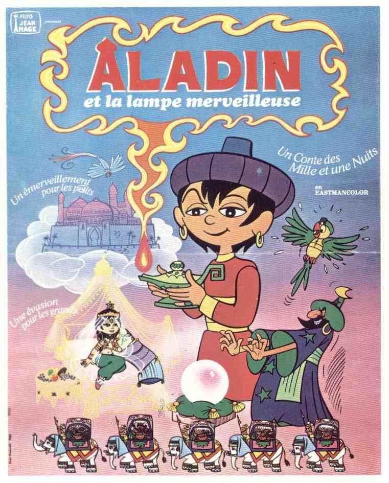 Aladdin Et La Lampe Merveilleuse : aladdin, lampe, merveilleuse, Aladin, Lampe, Merveilleuse, MOMES.net