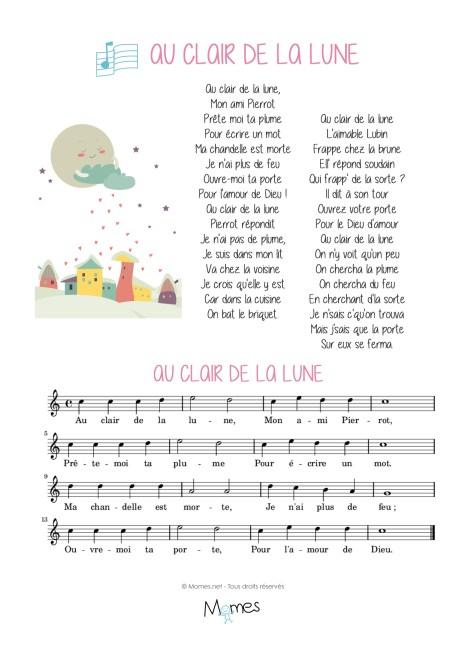 Sur La Lune Parole : parole, Clair, MOMES.net