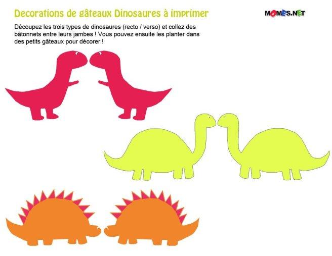 dinosaure a imprimer