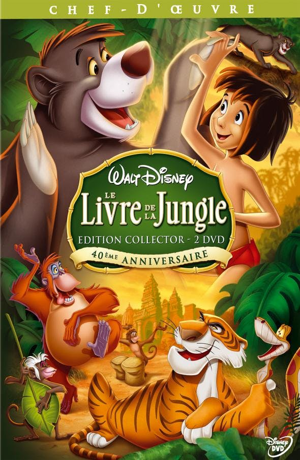 Le Livre De La Jungle Avis : livre, jungle, Livre, Jungle, MOMES.net
