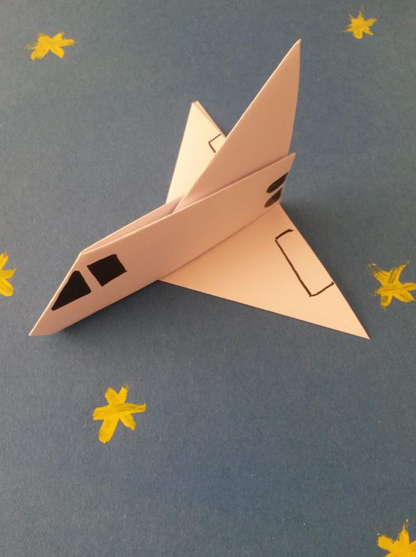 Jeux D Avion En Papier : avion, papier, Navette, Spatiale, Papier, MOMES.net