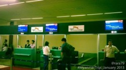 Tiger Airways Check-in Counter at CGK