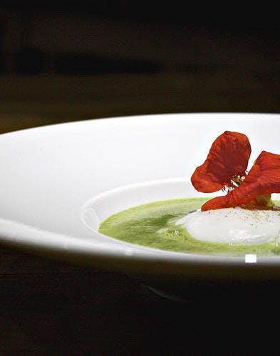 Soupe D Orties Grand Chef : soupe, orties, grand, Ruchotte, Poché,, Soupe, D'orties, Vertes, Régal