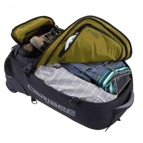 Daypack Backpack Wheeled Trolley Caribee Sky Master 70Liter