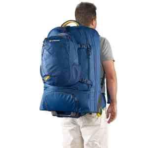 Daypack Backpack Wheeled Trolley Caribee Fast Track 85 Liter