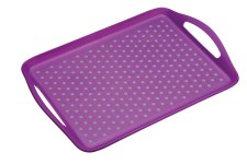 Tray Anti Slip Colourworks KitchenCraft Purple