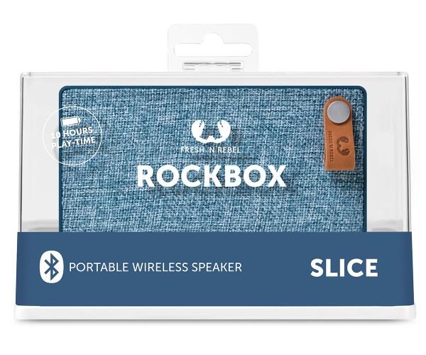 Fresh'n Rebel Rockbox Slice Bluetooth Speaker Package