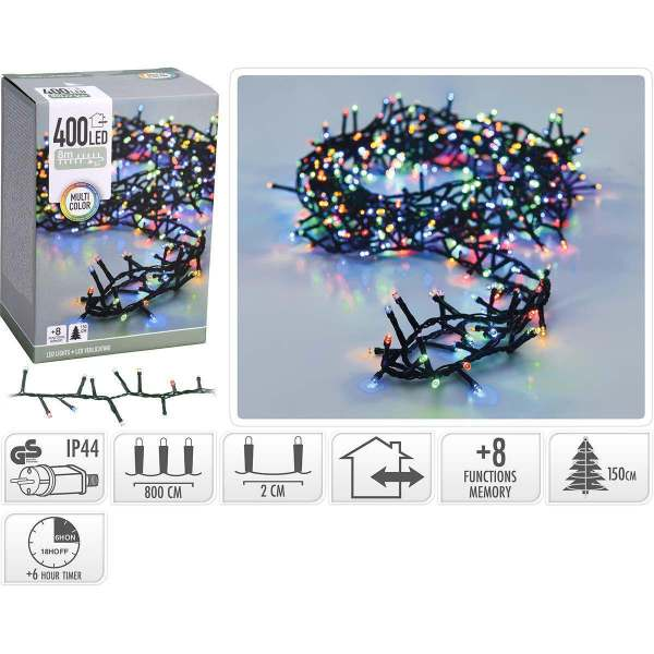 Christmas Bulbs Lights LED Multi Colour Nedis