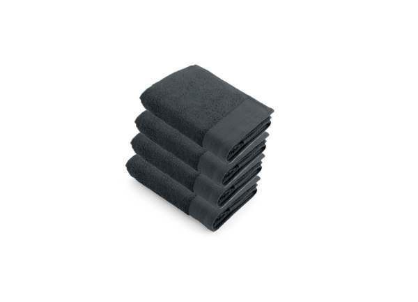 Bath Towel  Soft Cotton Walra Anthracite