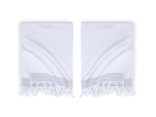 Hamam Hammam Bath Towel Soft Cotton Walra White