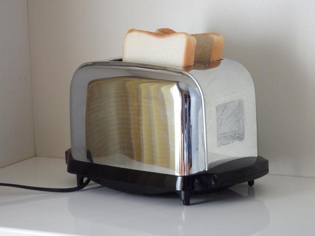 1日3食のエジソンのトースター