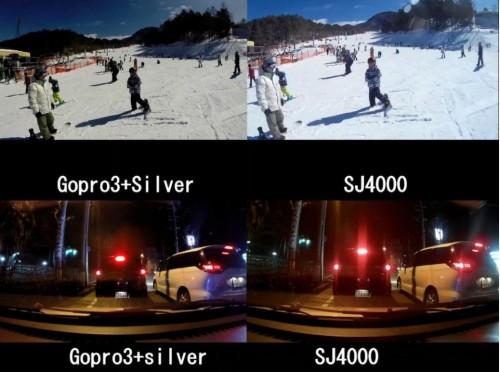 сравнение качества SJ4000 и Gopro Hero 3