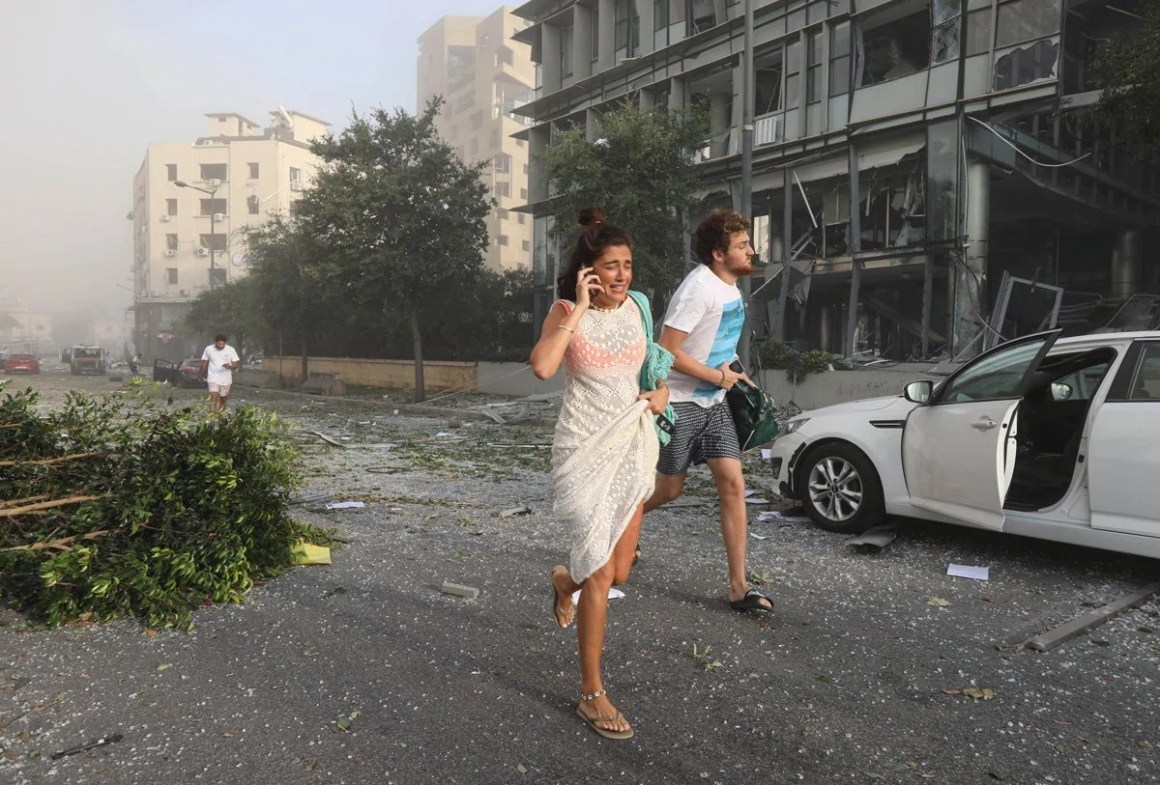1990'da biten iç savaşın etkisini halen hisseden Beyrut'ta yaşanan patlama bölge halkını korkuttu.