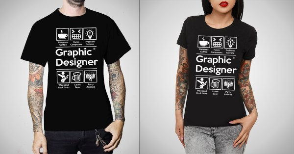 Graphic Design Tee Shirt